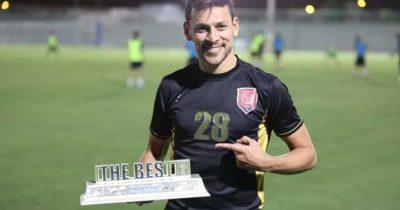 Msakni meilleur joueur au Qatar en septembre.
