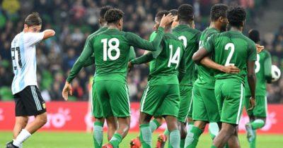 Le Nigéria renverse l'Argentine