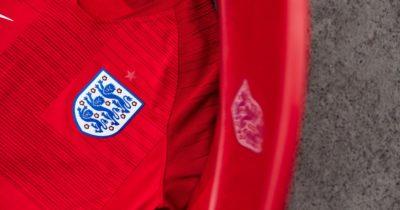 L'Angleterre dévoile son maillot pour la coupe du monde