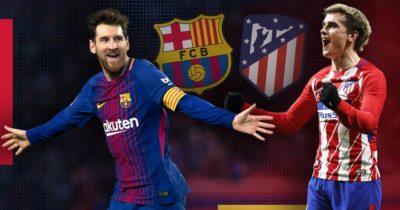 Liga : Barça-Atlético, 04-03-2018 où voir le match
