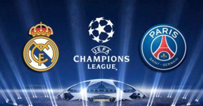LDC, 8es : PSG-Real Madrid 06-03-2018, sur quelles chaines ?