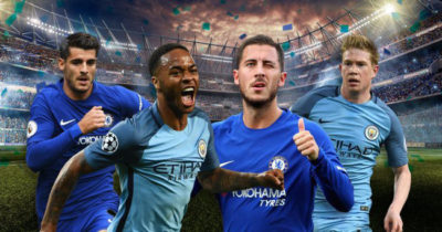 Premier League, City-Chelsea 04-03-2018 où voir le match
