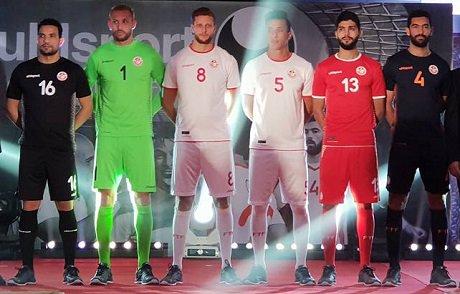 Exclusif les nouveaux maillots de l 39 equipe de tunisie pour la coupe du monde footballtunisien - Prochaine coupe du monde de foot 2018 ...
