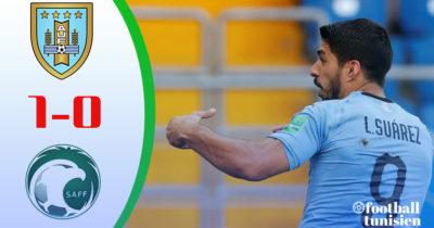ملخص مباراة السعودية والاورجواي 0-1 اداء رجولي من الخضر