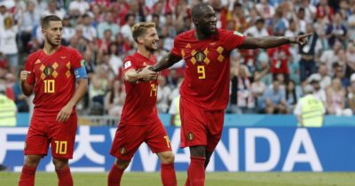 Le onze de départ de la Belgique contre la Tunisie