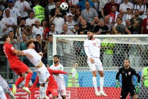 Tunisie 1-2 Angleterre | Resumé+Buts