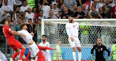 Tunisie - Angleterre : les notes