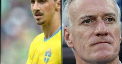 "Ibrahimovic ""Zlatane"" Deschamps à propos de Benzema"