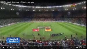 Vidéo :  Résumé Tunisie - Espagne 09/06/2018