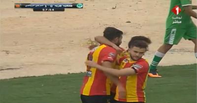 Vidéo : L'ouverture du score de l'EST face à l'AS Djerba