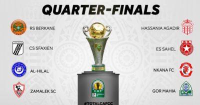 CAF : Les adversaires du CSS et de l'ESS en quarts