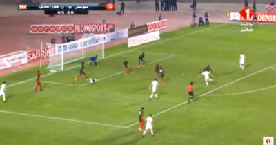 Vidéo: Khenissi ouvre le score pour la Tunisie