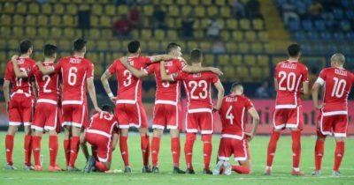 La formation rentrante de la Tunisie contre la Côte d'Ivoire
