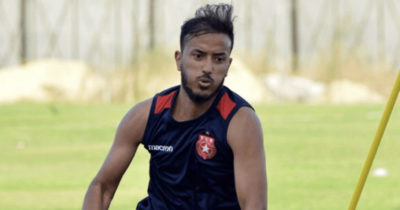 Hamza Lahmer out deux semaines