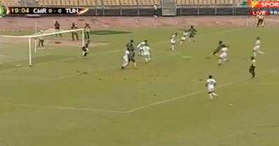Vidéo : L'ouverture du score du Cameroun face à la Tunisie
