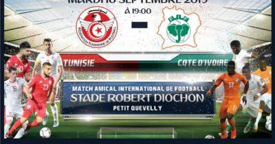 Tunisie- Côte d'Ivoire où voir le match