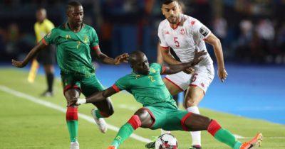 EN : Le onze de départ de la Tunisie contre le Cameroun