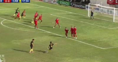 Vidéo : Halim Darrahi ouvre le score pour le CAB face à l'ESS