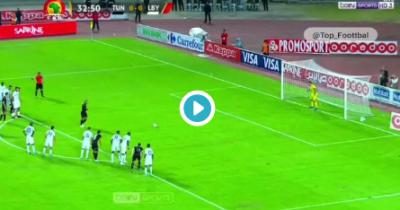 Vidéo : Khazri ouvre le score pour la Tunisie
