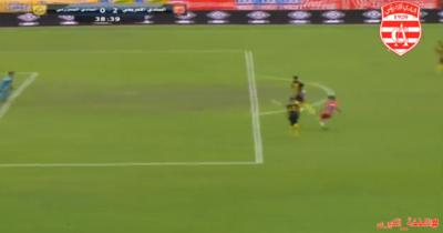 Vidéo : Le joli but de Yassine Chammakhi face au CAB