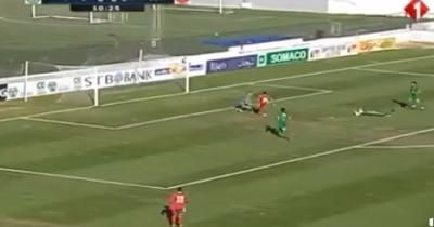 Vidéo : L'ESS ouvre le score contre le CSHL ( Gonzales)