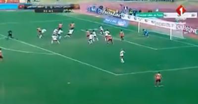 Vidéo : Al Houni ouvre le score pour l'EST