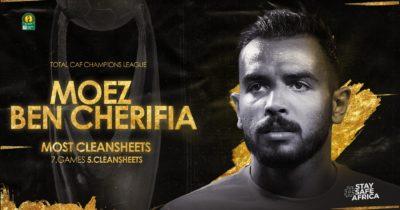 LDC Africaine : Moez Ben Chrifia élu meilleur gardien